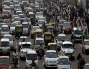 Motor vehicle strike