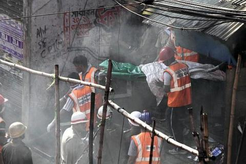 fire rescue operations in kolkatha