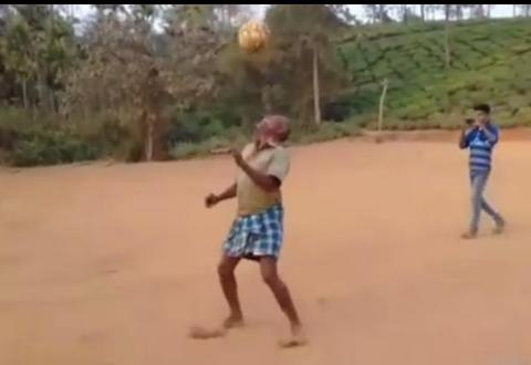 football-skills, old man