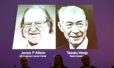 james p allison, tasuku honjo