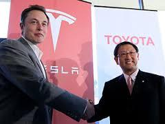 electric car,Toyota,Tesla,Elon Musk,