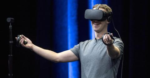 virchual reality headset, facebook