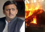 akhilesh yadav and matura riots