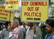 protest against criminal politicians