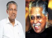 pinarayi vijayan and mk damodaran