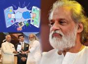 Yesudas, Ram Nath Kovind, Social Media