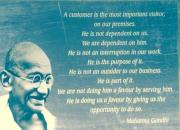 gandhi customer quote