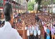 pinarayi vijayan speaks to bureaucrats