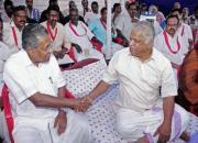 pinarayi vijayan and mv jayarajan