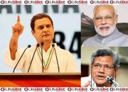 Rahul Gandhi-Modi-Yechuri
