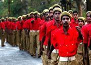red volunteer march