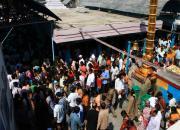 temple crowd