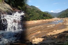 river after flood